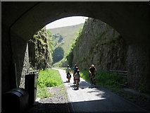 SK1672 : Monsal Trail: eastern portal of Litton Tunnel by Gareth James
