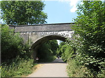 SK1971 : Monsal Trail: overbridge east of Headstone Tunnel by Gareth James