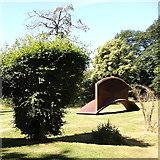 "SE2812 : Yorkshire Sculpture Park: ""Crossing (Horizontal)"" by Rudi Winter"