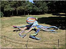 "SE2812 : Yorkshire Sculpture Park: ""Octopus (Polipo)"" by Rudi Winter"