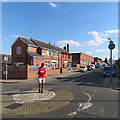 SK5801 : Leicester: along Vaughan Road by John Sutton