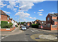 SK5801 : Leicester: along Duncan Road by John Sutton