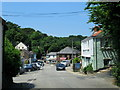 SW7250 : St Agnes Town Hill by Roy Hughes