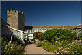 ND2873 : Greenhouse in the Walled Garden, Castle of Mey, Caithness by Andrew Tryon