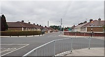 J0407 : Cross roads on McSwiney Street, Dundalk by Eric Jones