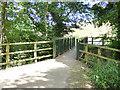 SE3336 : Footbridge in Wykebeck Woods by Stephen Craven