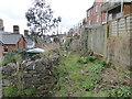 SX8670 : Scruffy back lane - Newton Abbot by Chris Allen