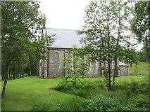 NH3129 : Disused church at Fasnakyle by David Purchase