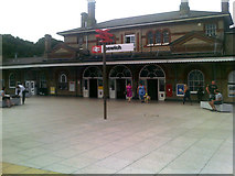 TM1543 : Ipswich Railway Station by Adrian Cable