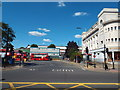 TQ2587 : Exit from Golders Green bus station by Malc McDonald