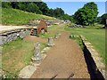 SP0513 : The ruins at Chedworth Roman Villa by Steve Daniels