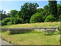 SP0513 : The North Wing at Chedworth Roman Villa by Steve Daniels