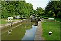 SP5565 : Grand Union Canal at Braunston Locks in Northamptonshire by Roger  Kidd