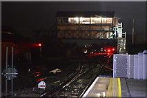 TR1458 : Canterbury West Signalbox by N Chadwick