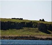 NM3044 : Cairnburgh Castle by Rob Farrow