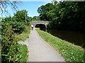 SD4969 : Cyclist approaching Thwaite End Bridge [No 127] by Christine Johnstone