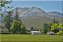 NH0362 : Beinn Eighe seen from Incheril by Nigel Brown