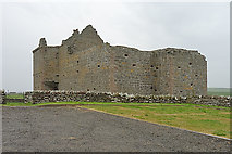 HY4248 : Noltland Castle by Anne Burgess