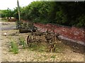 SO9156 : Vintage farm machinery at the Green Farm, Crowle by Oliver Dixon