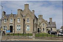 HU4741 : County Buildings, King Erik Street, Lerwick, Shetland by Jo Turner