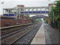 SJ6590 : Birchwood railway station, Warrington by Nigel Thompson