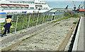 J3576 : Old shipyard railway, Titanic Quarter, Belfast (July 2018) by Albert Bridge