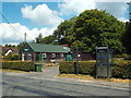 TQ4129 : Telephone kiosk outside Chelwood Gate village hall by Malc McDonald