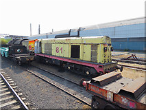 SE9111 : Former BR class 20 at Scunthorpe Steelworks by Gareth James
