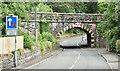 J1984 : Railway bridge, Dunadry (July 2018) by Albert Bridge