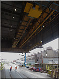 SE9011 : Overhead travelling crane at Scunthorpe Steelworks by Gareth James