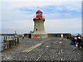 NZ3868 : Light on the South Pier by John M