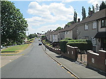 SO9590 : High View Street, Kates Hill by David Weston