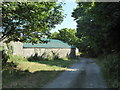 SW5734 : Barn at Treven Farm by Rod Allday