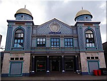 TQ3385 : Aziziye Mosque, Stoke Newington Road N16 by Robin Sones