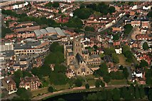 SO8554 : Worcester Cathedral: aerial 2018 by Chris