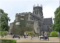 SJ9223 : St Mary's Church, Stafford by Russel Wills