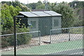 TM3977 : Halesworth Tennis Club Pavilion by Adrian Cable