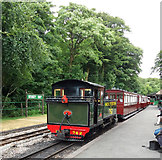 SS6846 : Woody Bay Station: train for Killington Lane by Martin Bodman