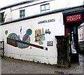 SO2800 : Commercial Street mural, Pontypool by Jaggery