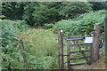 SO1806 : Footpath gate, Silent Valley Local Nature Reserve by M J Roscoe