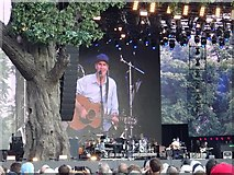 TQ2880 : James Taylor in concert by Philip Halling