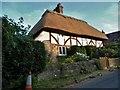 TQ0019 : Cottage on Bedham Lane, Fittleworth by David Howard