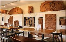 NY0265 : Tea Room, Caerlaverock Castle by Billy McCrorie