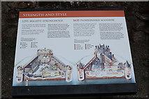 NY0265 : History of Caerlaverock Castle by Billy McCrorie