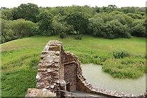 NY0265 : Outer Wall, Caerlaverock Castle by Billy McCrorie