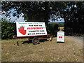 TQ5656 : Pick your own raspberries by Marathon