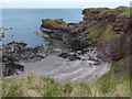 NT9464 : Small cove at Hairy Ness near Eyemouth by Mat Fascione