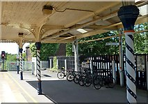 SK3871 : Cycle Parking at Chesterfield Station by Mary and Angus Hogg