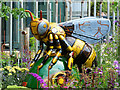 SJ8397 : Industrious in the MoSI Bee Garden by David Dixon