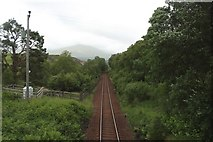 NN3578 : The West Highland Line at Fersit by Graham Robson
